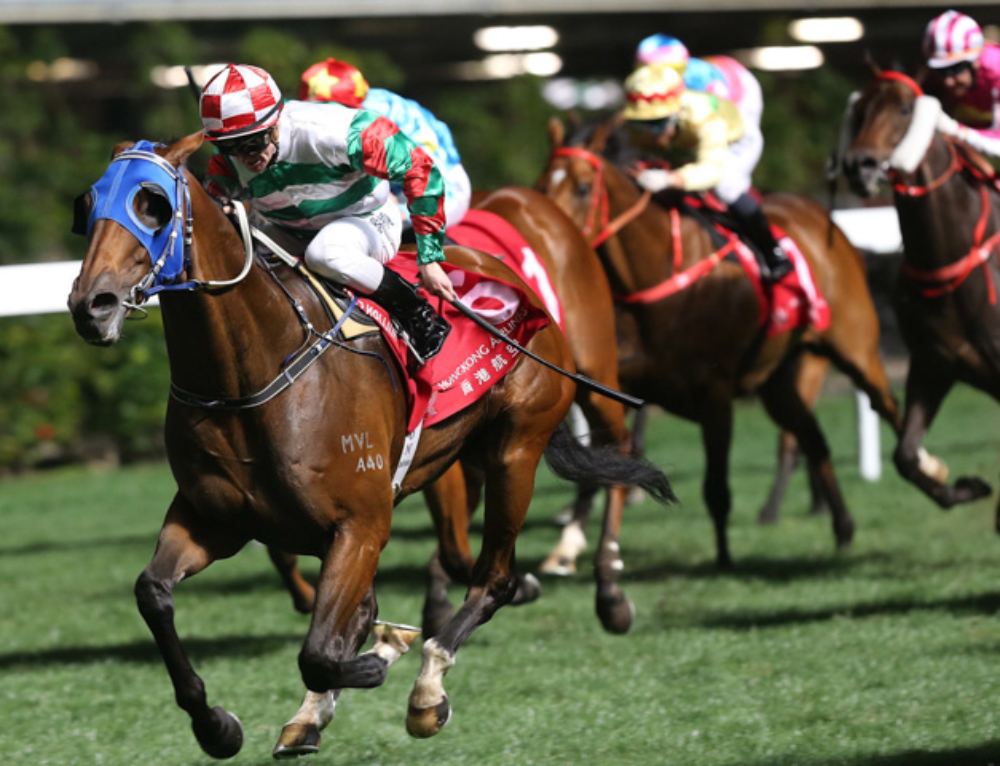 MORE HONG KONG LUCK FOR PLUCK