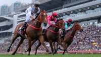 Mossman galloper Ivictory wins HK Gr.1