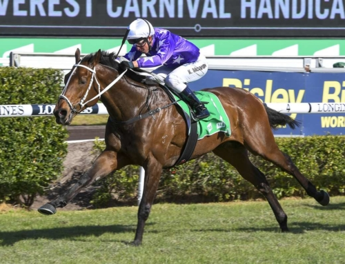 CORMAC SCORES AT RANDWICK