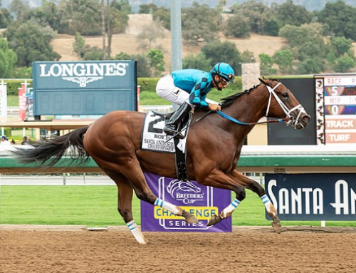 ROY TOYS WITH RIVALS AT SANTA ANITA