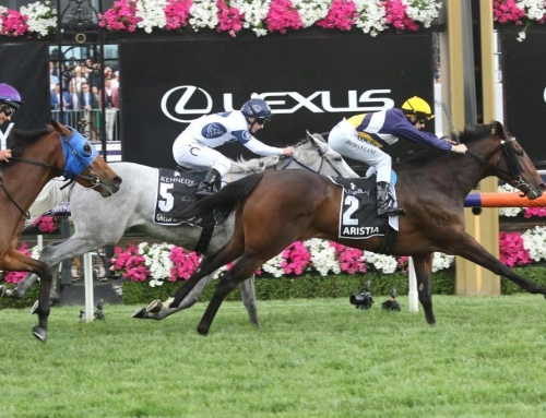 ARISTIA HONOURS VINERY IN VRC OAKS