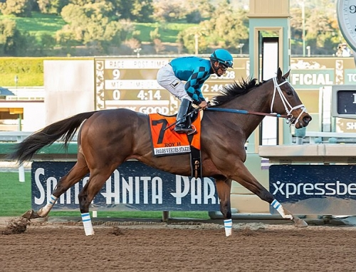 ROY H ON SONG AT SANTA ANITA