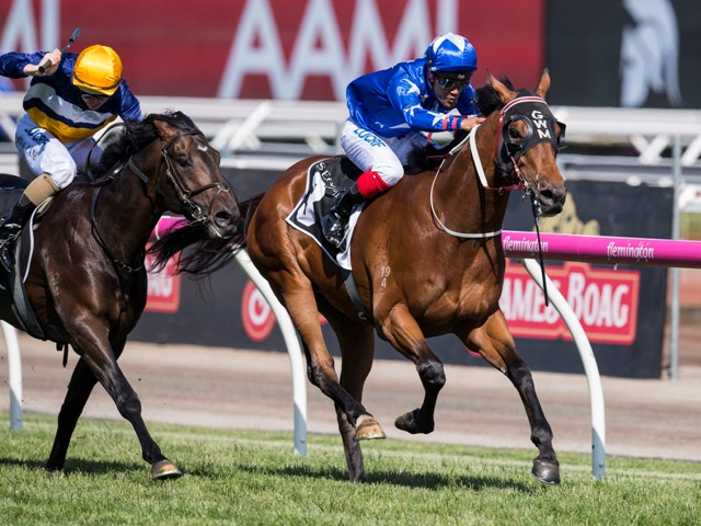 All Too Hard 3yo All Too Huiying wins the Seppelt Wines Stakes