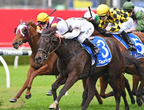 JAMAEA WINS ANOTHER GR.2 WITH FURIOUS FINISH